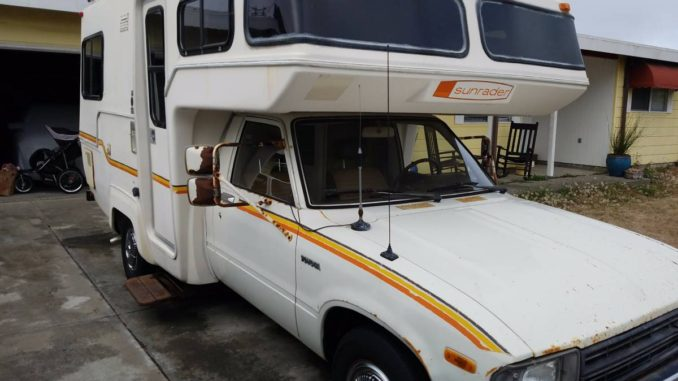 1984 Toyota Sunrader Motorhome For Sale In Mckinleyville Ca