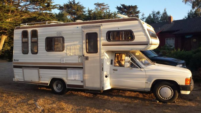 1985 Toyota Dolphin Motorhome For Sale In Redding Ca