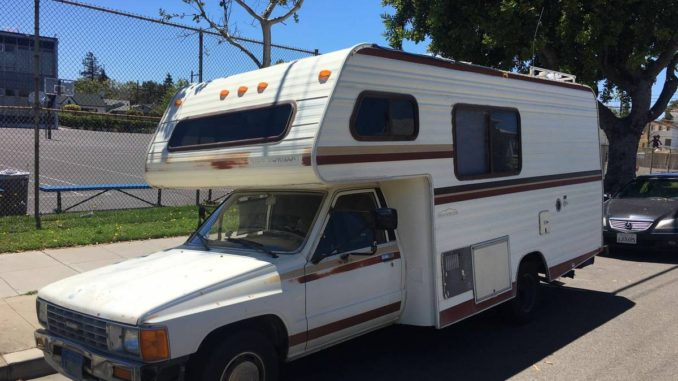 1986 Toyota New Horizon Motorhome For Sale in San ...