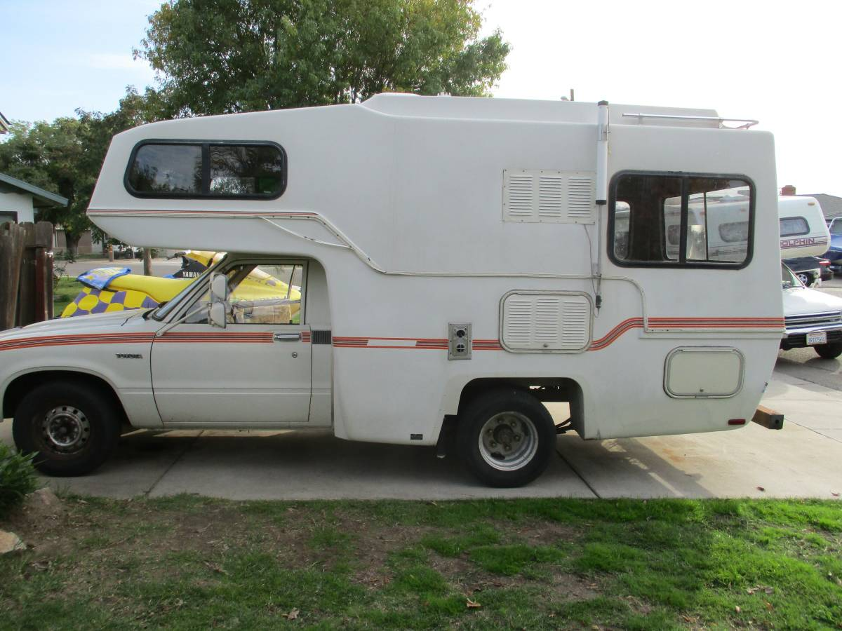 1982 Toyota Sunrader Motorhome For Sale In Manteca California