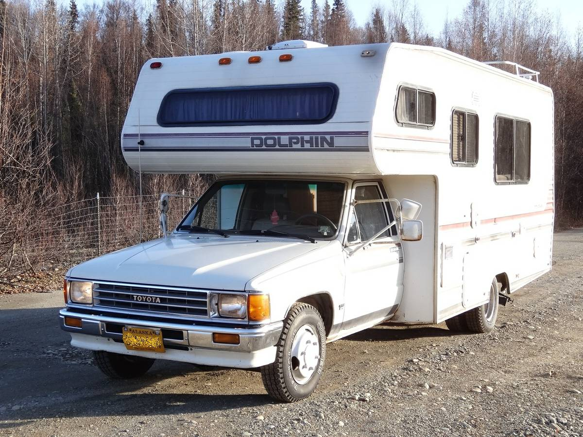 Used Motorhomes For Sale By Owner >> 1988 Toyota Dolphin 22RE Manual Motorhome For Sale in Wasilla, AK
