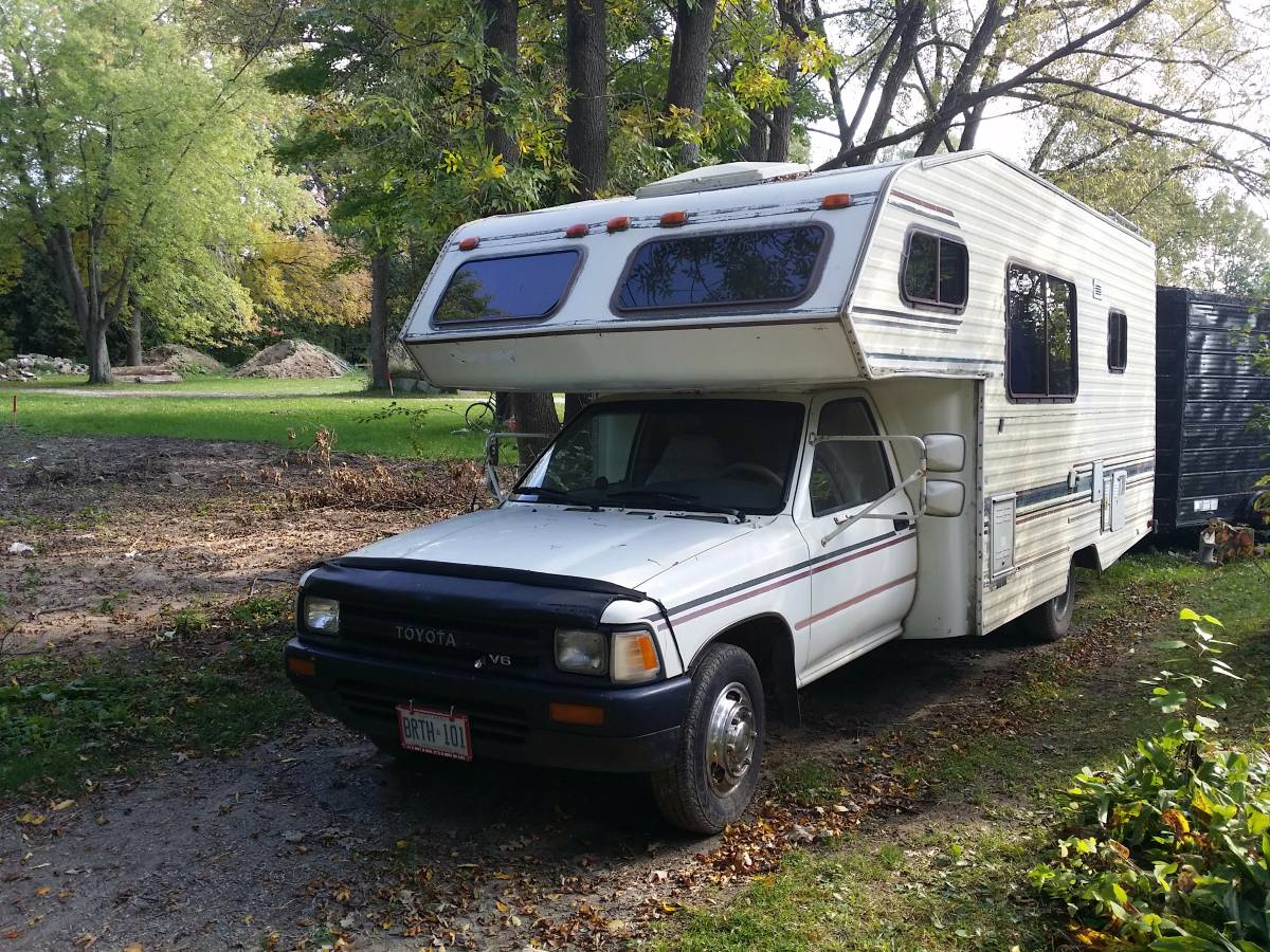 1990 Toyota Odyssey 3.0L 5-Spd Motorhome For Sale In