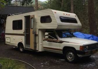 1987 Toyota New Horizon Motorhome For Sale in Mt. Hood, Oregon