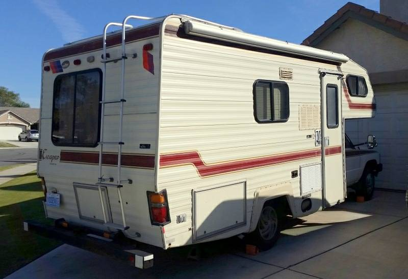 1985 Toyota Escaper 19 FT Motorhome 22R Man For Sale in ...