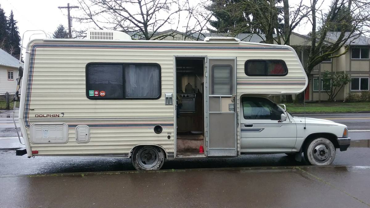 Used Motorhomes For Sale By Owner >> 1989 Toyota Dolphin 20 FT Motorhome For Sale in Broomfield, CO - $4K