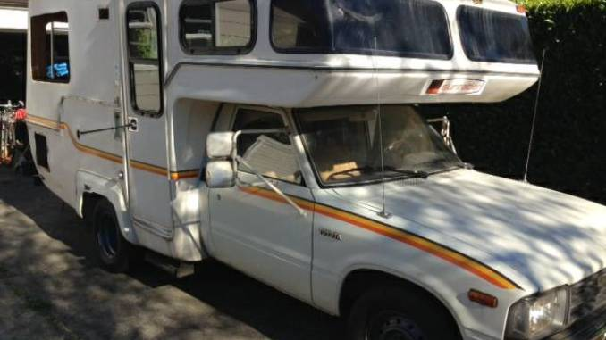 Gutted 1983 Toyota Sunrader 19FT Motorhome For Sale in ...
