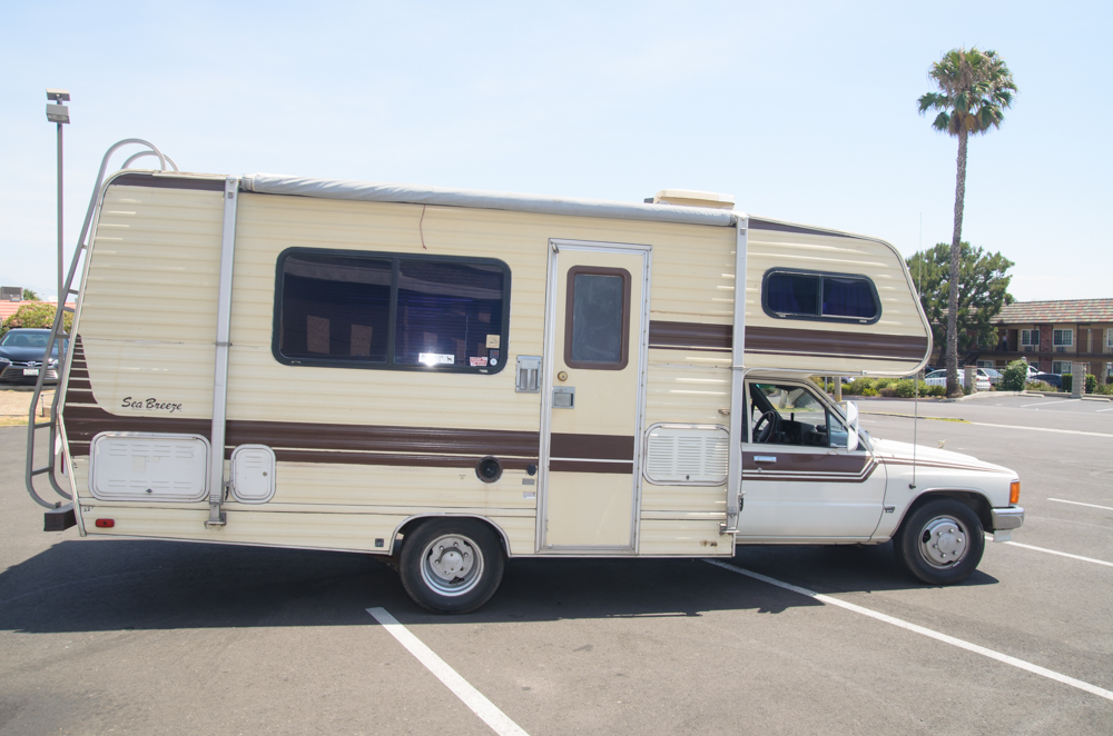1987 Toyota Sea Breeze Rv 22re Auto Motorhome For Sale In