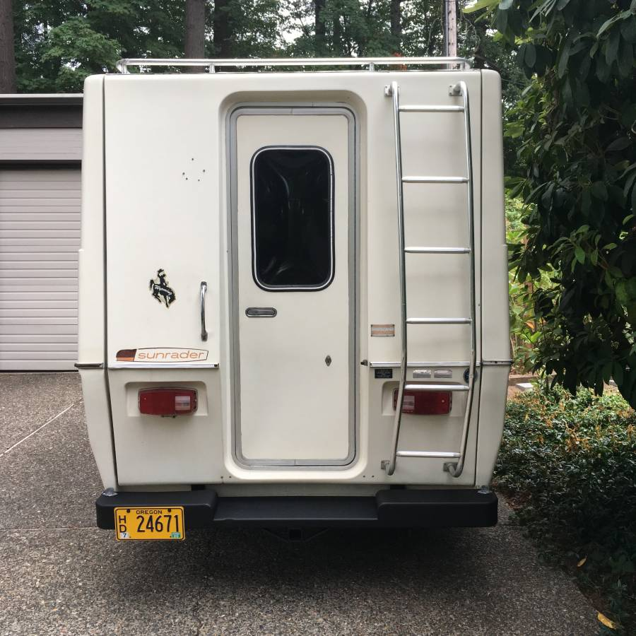 Used Toyota Campers For Sale: 1978 Toyota Sunrader 16.5FT Motorhome For Sale In Portland, OR