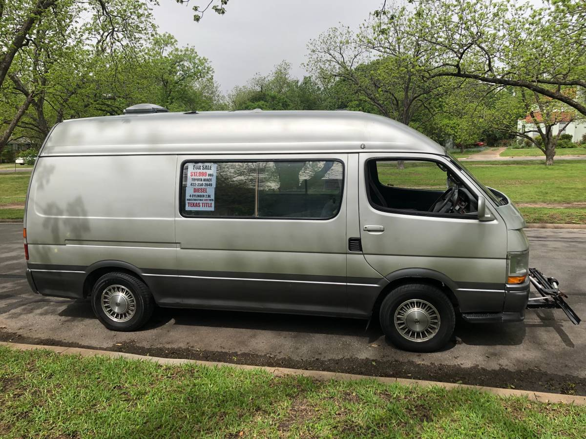 1992 Toyota HiAce Diesel Cruising Cabin Campervan For Sale