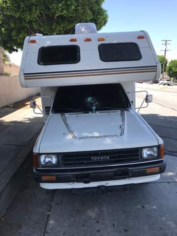 1988 Toyota Winnebago Warrior 22RE Auto 19FT RV For Sale ...
