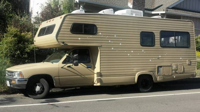 1991 Toyota Dolphin V6 21ft Mini Motorhome For Sale In