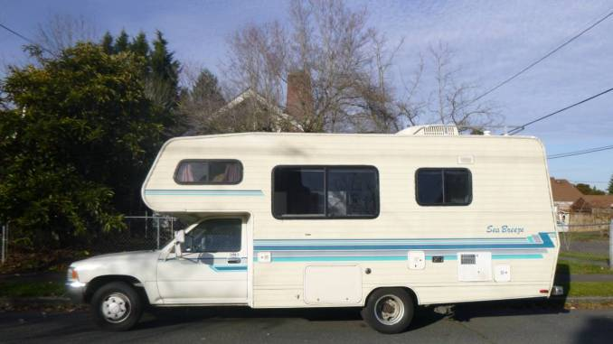 Toyota Motorhome For Sale Chinook Dolphin Sunrader Craigslist Used