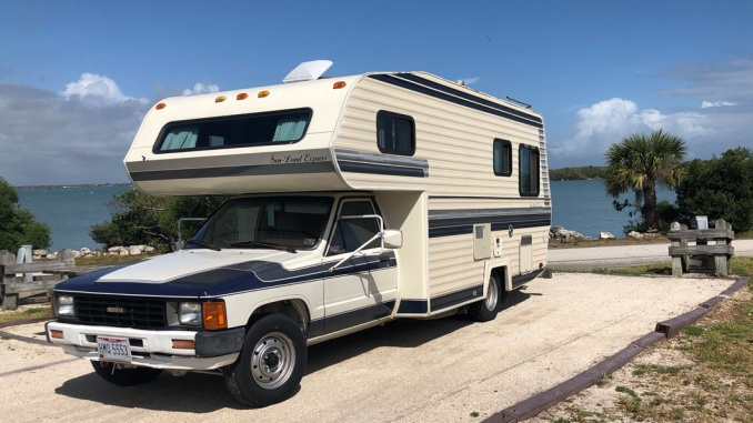 1986 Toyota Sun-Land Express 22RE Auto RV For Sale in ...
