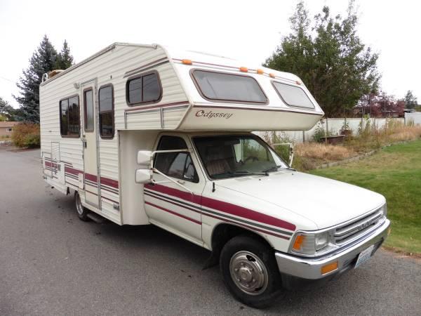 Toyota Fayetteville Ar >> 1992 Toyota Odyssey Motorhome For Sale in Spokane Valley ...