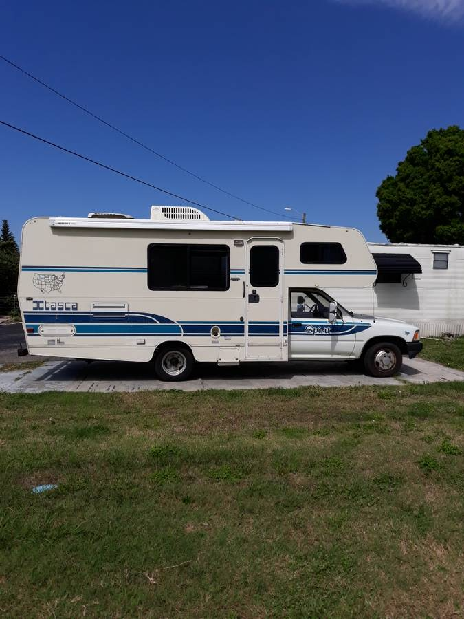 1991 Toyota Itasca Spirit Motorhome For Sale in St ...