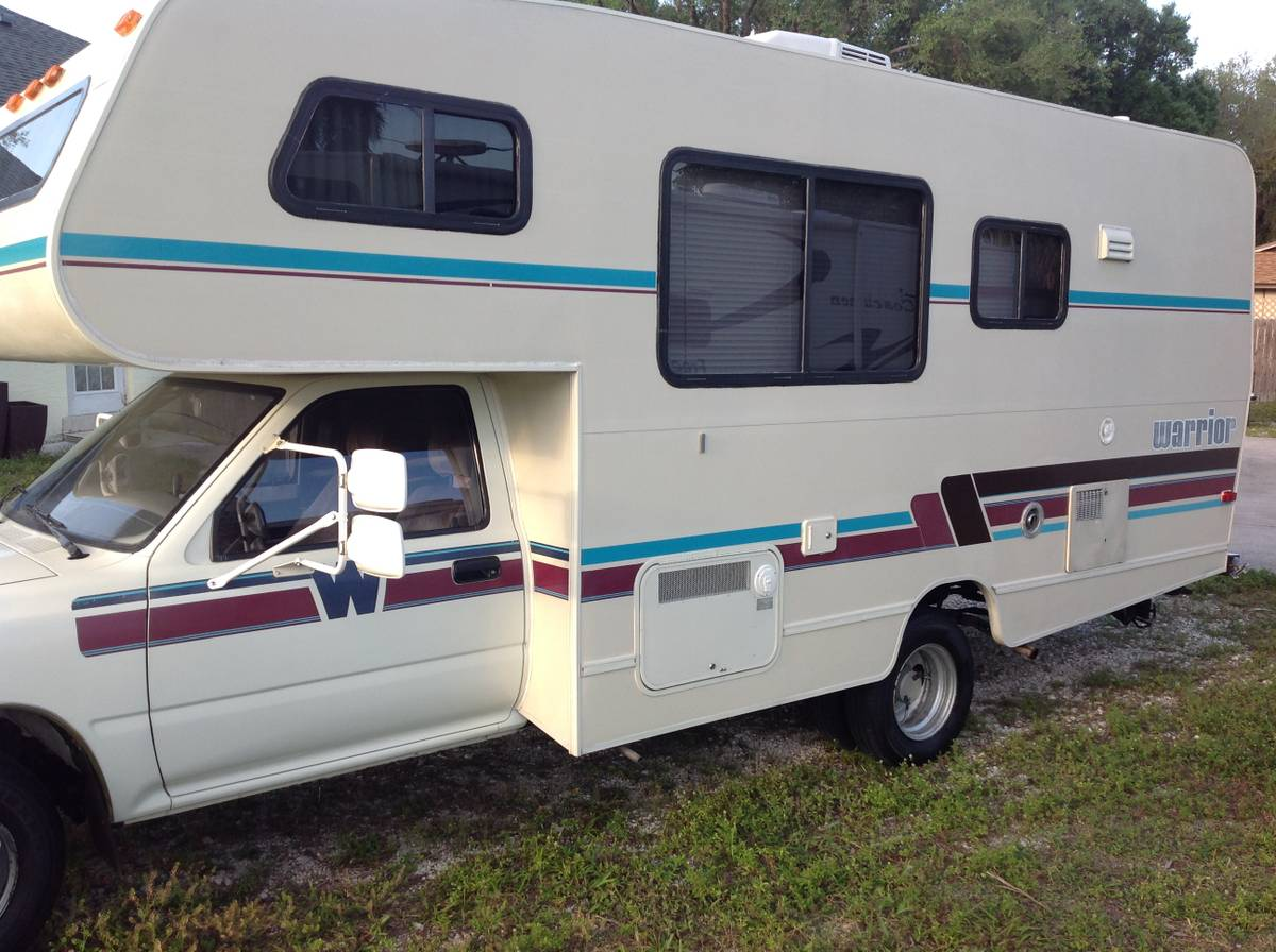 1992 Toyota Warrior Motorhome For Sale in Titusville, FL