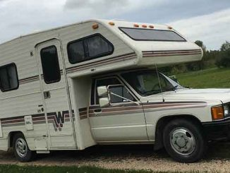 987 Winnebago Warrior R22 Fuel Injected Auto 20FT Motorhome For Sale in Northern, Minnesota.