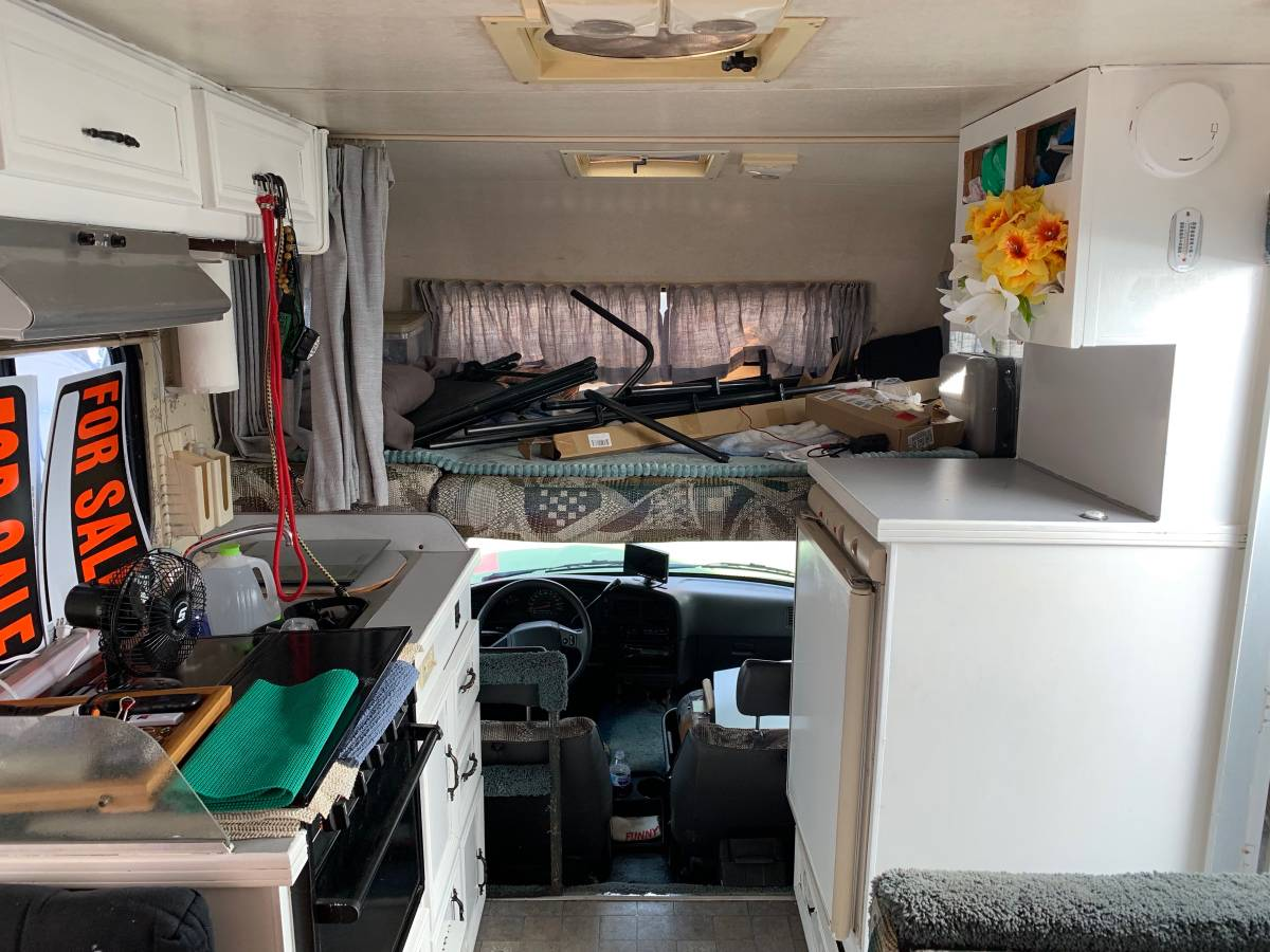 1989 Toyota Dolphin V6 Auto Motorhome For Sale In Seattle Wa