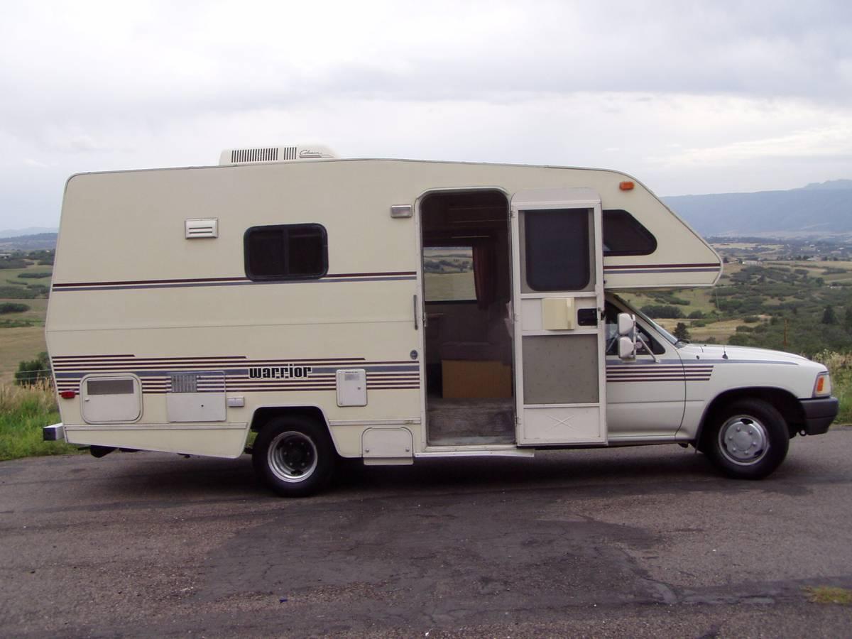 1990 Toyota Winnebago Warrior Motorhome For Sale in Castle ...