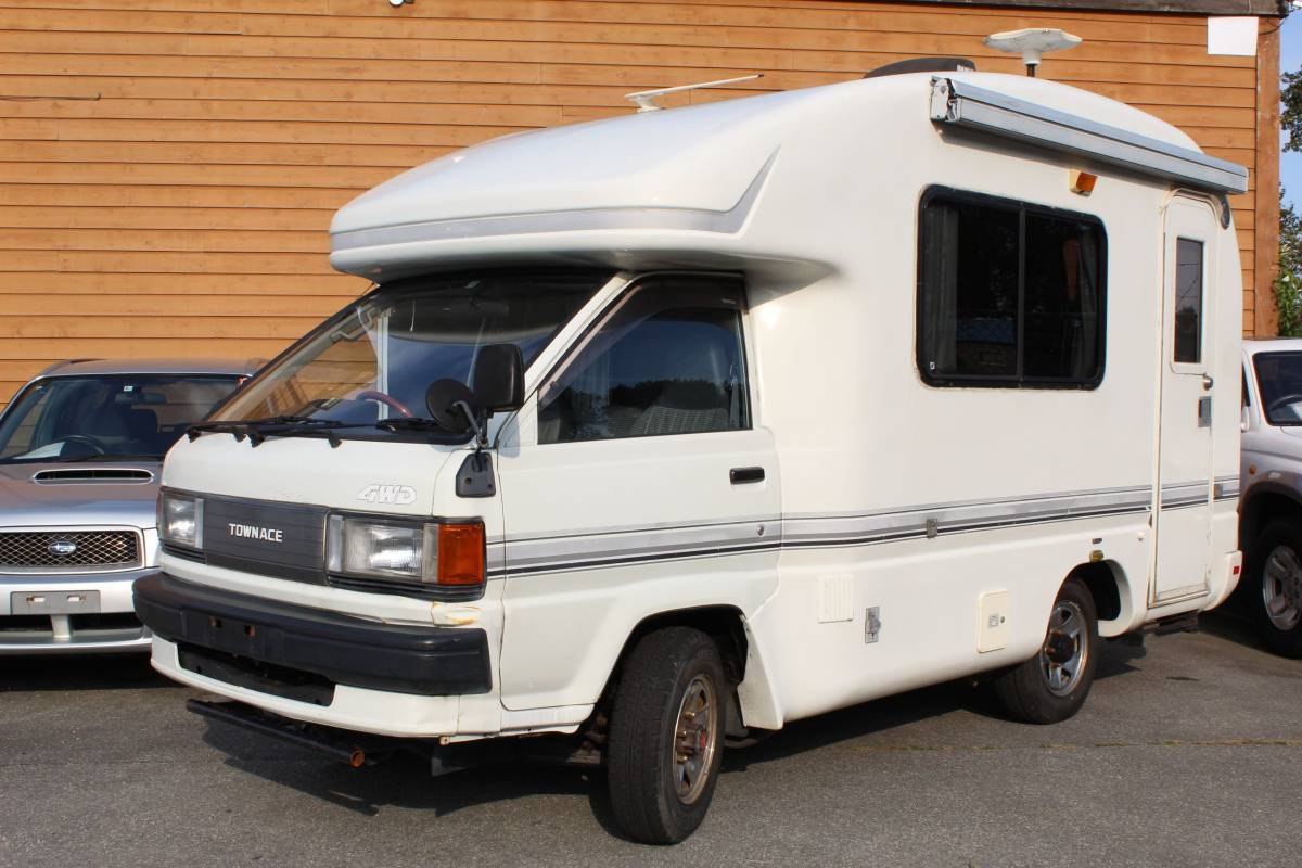 1992 Toyota Townace High Roof 4cyl Motorhome For Sale In