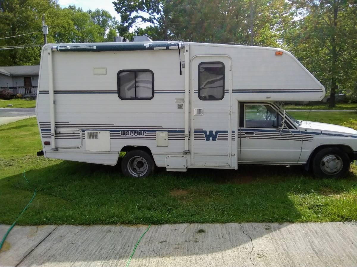1989 Toyota Winnebago Warrior Motorhome For Sale in ...