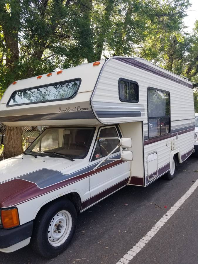 1985 Toyota Sunland Express Motorhome For Sale in Colorado ...